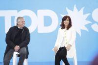 Alberto y Cristina volvieron a mostrarse juntos en la presentación de candidatos del Frente de Todos