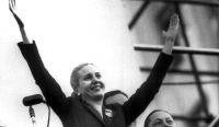 Eva Perón. Fuente: (Twitter)
