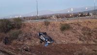 Choque y vuelco fatal: un hombre falleció y una mujer se encuentra grave
