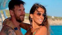 ¡La sensual imagen que Leo Messi compartió de Antonella en sus redes sociales!