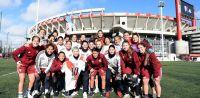 ¡Cazzu visitó al equipo femenino de River y las redes sociales enloquecieron!
