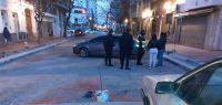 Arrancamos mal: salteño pasado de copas se metió por el medio de una obra y terminó sin auto