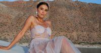 """""""Estoy completa"""": El emotivo mensaje de Paulina Goto con unas increíbles fotos en la playa por su cumpleaños"""