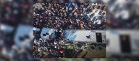 |TERRIBLE VIDEO| Como pirañas, miles de personas vacían un camión con alimentos que se dirigía al interior salteño