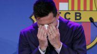 "Messi rompió en llanto: ""Nunca imaginé mi despedida"""