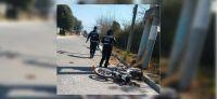 Joven salteño perdió el control de su motocicleta, embistió un poste de luz y no vivió para contarla