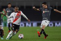 Con un gol de Nacho Fernández, River Plate perdió ante Atlético Mineiro