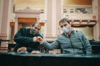 Renovación de rostros en Diputados: Omar Exeni y el contundente apoyo a la candidatura de Vitín Lamberto