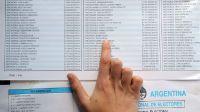 Elecciones PASO: habilitaron el padrón y ya se puede consultar dónde votar