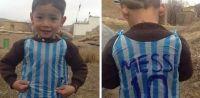 Murtaza, el niño afgano que conmovió a Lionel Messi, vive una tragedia
