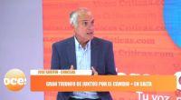 """José Gauffín: """"Ganar la elección nos da una gran responsabilidad"""""""