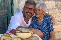 Donato Di Santis y un emotivo reencuentro con su mamá