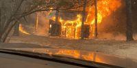 Incendios en Córdoba: el viento y el calor complican la lucha de los bomberos
