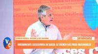"""Guillermo Durand Cornejo: """"En noviembre se define si este país va a seguir existiendo o no"""""""