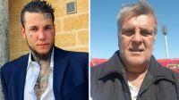 Alex Caniggia y Luis Ventura se cruzaron fuerte en Polémica en el Bar