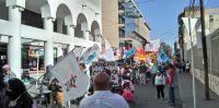 Caos en la Ciudad: hay desvíos por manifestaciones de organizaciones sociales