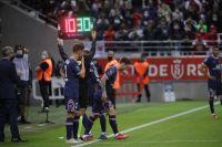 Lionel Messi hizo su debut en el triunfo del PSG