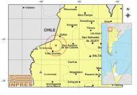 ¡Uy quieto! Un sismo sacudió a Salta en pleno medio día