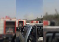 Un incendio de pastizales puso en alerta a vecinos de localidades norteñas