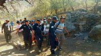 FOTOS | Un intenso operativo permitió dar con un salteño que estaba extraviado