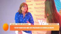 """Silvia Ruiz: """"Me metí en la política porque el lugar de toma de decisiones es el Congreso"""""""