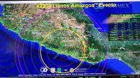 México: Acapulco fue sacudida por un fuerte sismo de 7.1: SSN