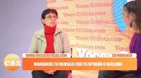 """Cristina Foffani: """"La grieta no existe, es un montaje que armaron Juntos por el Cambio y el kirchnerismo"""""""