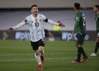 El tierno gesto de Antonella para con Messi tras la victoria contra Bolivia