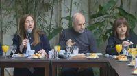 Juntos por el Cambio realizó el tradicional desayuno electoral