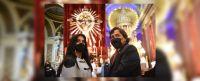 """Gustavo Sáenz y su esposa en el Milagro: """"Renovaremos el pacto de fe con nuestros Santos Patronos"""""""
