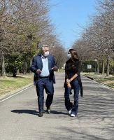 Gómez Alcorta se reunió con Alberto Fernández
