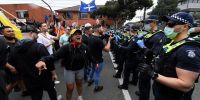 Australia: graves incidentes en medio de una protesta por el confinamiento