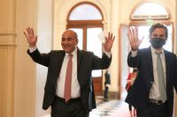 Alberto Fernández tomó juramento a su nuevo Gabinete en un breve acto en Casa Rosada