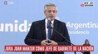 Las frases más destacadas de Alberto Fernández en la asunción de los nuevos funcionarios