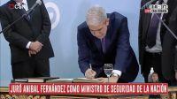 Aníbal Fernández vuelve a ser parte del Gabinete nacional: juró como Ministro de Seguridad