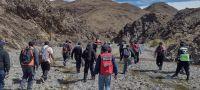 FOTOS. Importante despliegue para auxiliar a una pastora que se encontraba lesionada en las serranías