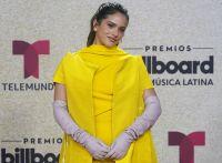 Rosalía enseñó la tanga tras bailar y se grabada con este vestido traslúcido