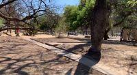 Preocupación: vecinos aseguran que cada vez más personas duermen en el Parque San Martín