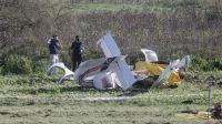 Accidente aéreo: un instructor de vuelo y su alumno perdieron la vida