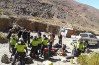 Especialistas del Ejército Argentino y de Gendarmería Nacional se sumaron para dar con el paradero de David Sulca