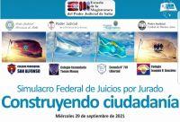Salta participará del primer Simulacro Federal de Juicios por Jurado