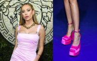 Como una Barbie, Ester Expósito deslumbra con explosivo vestido rosado