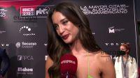 María Pedraza calentó las redes tras modelar con este vestido de princesa