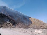 |FOTOS| Terrible incendio en La Cuesta del Obispo