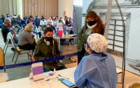 Vacunación para adolescentes sin factores de riesgo: hubo una gran respuesta durante la primera jornada