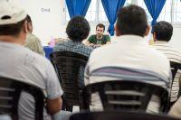 """Emiliano Estrada y una campaña basada """"en el diálogo, en el intercambio de propuestas e ideas"""""""