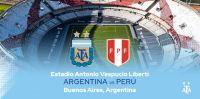 Rumbo a Qatar 2022: Argentina 1 – 0 Perú