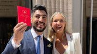 Así fue la celebración de la boda de Facundo Moyano y Eva Bargiela