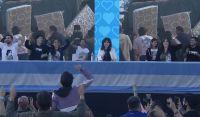"""Cristina Kirchner reapareció en un acto de La Cámpora: """"El peronismo sigue más vigente que nunca"""""""