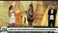 Ivana Nadal volvió a la televisión y dio la nota por un picante cruce con Pamela David
